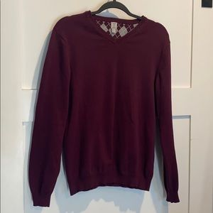 Tristan V-Neck Cotton/Cashmere Sweater